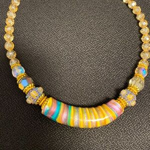 Murano glass necklace from Italy